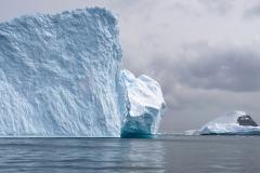 9. Ice cliff