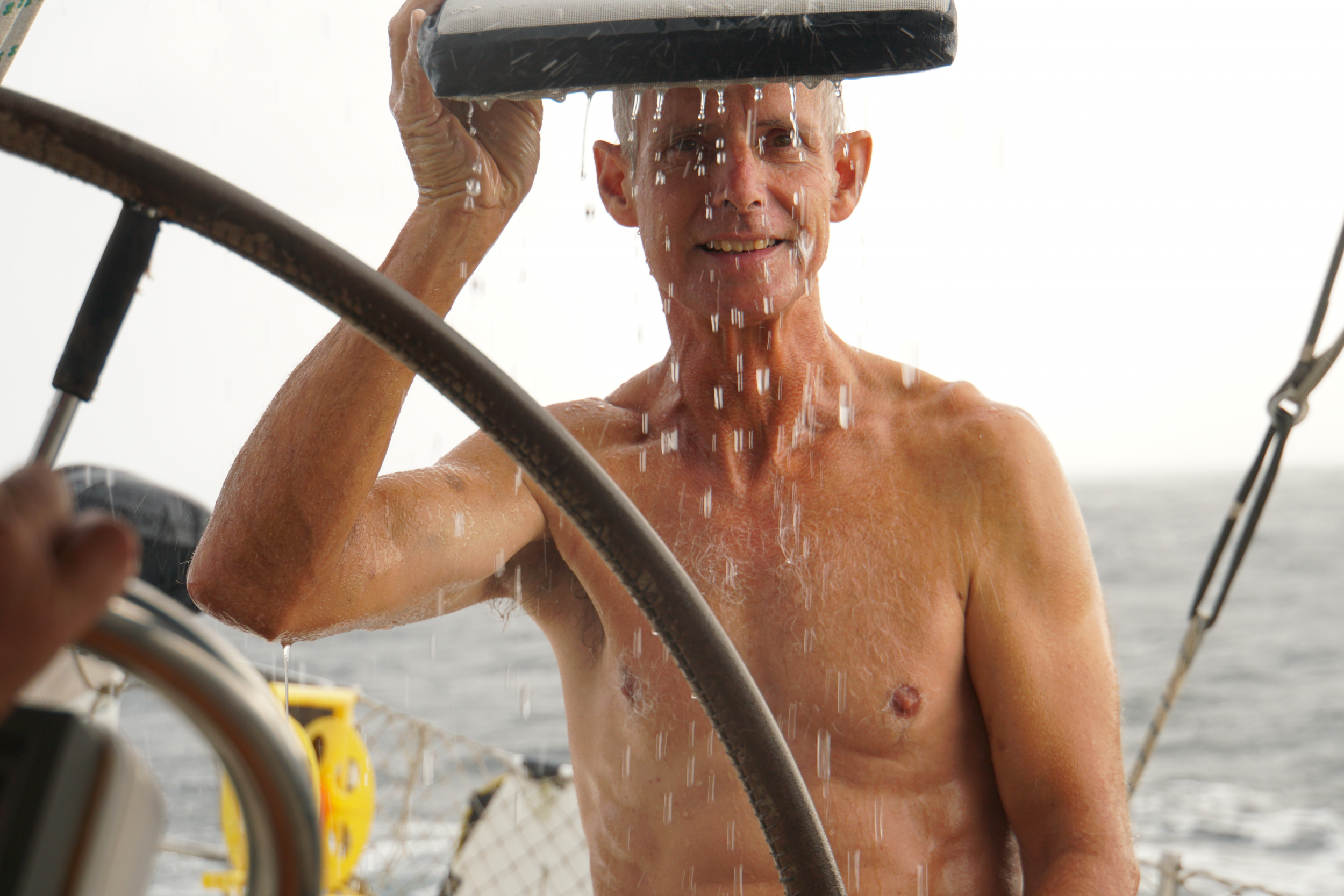 14. Sailing isn't always sunny in the Caribbean