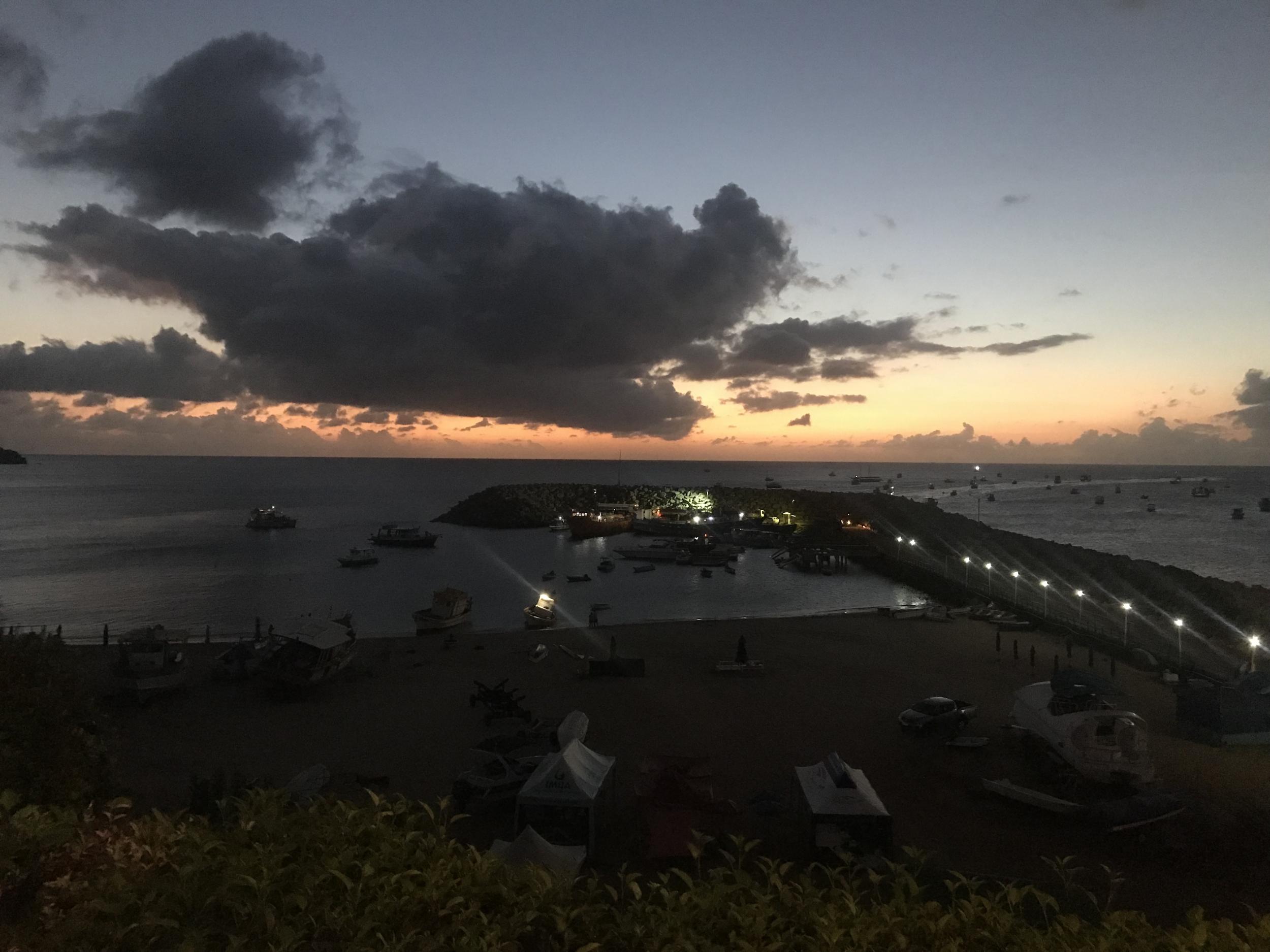 27. St Antonio Harbor, Noronha