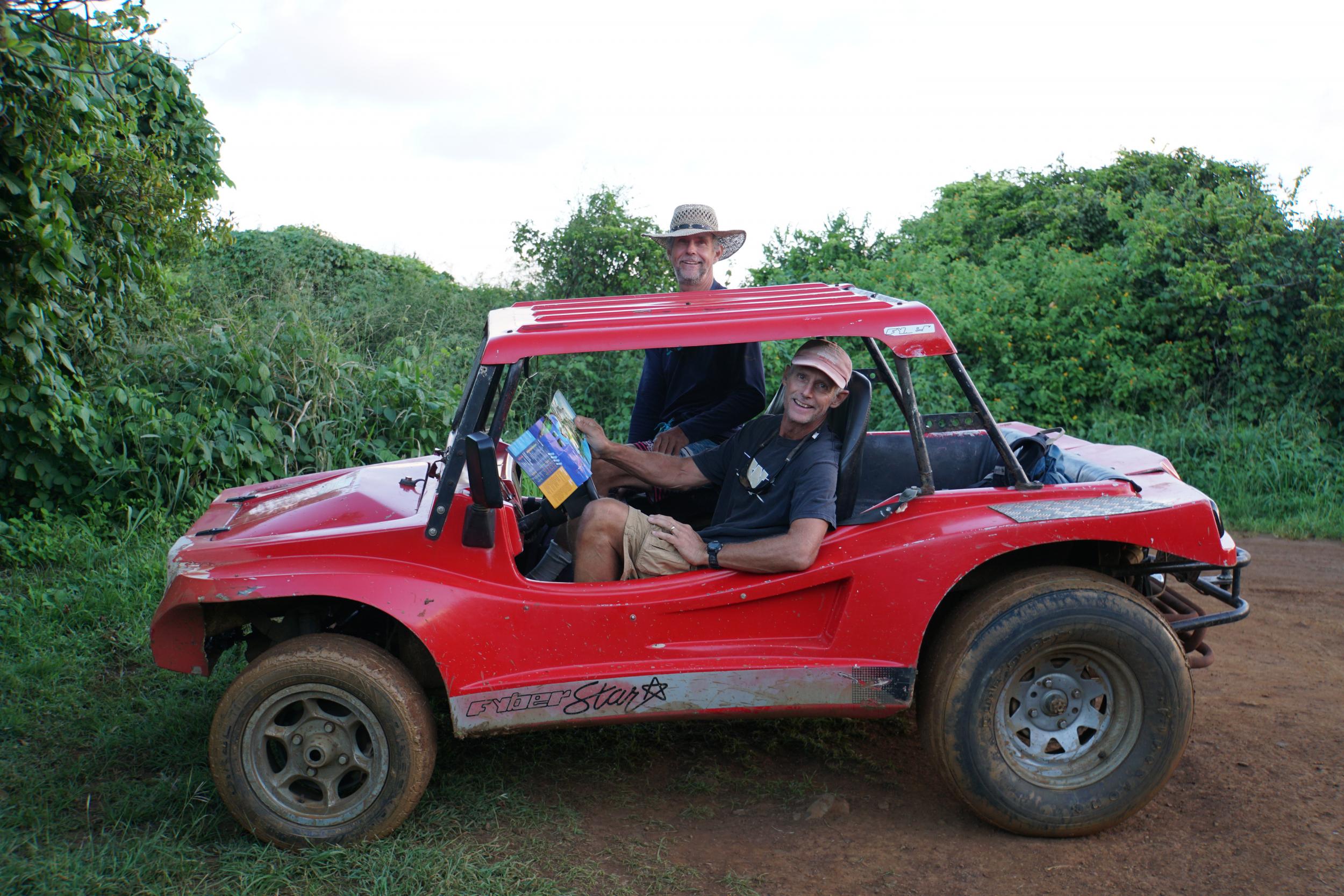 42. Rented a buggy to tour Noronha