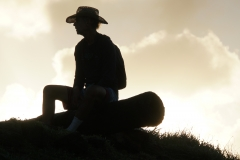 46. Johnny at sunset