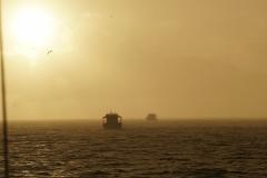 59. Rain at sunset