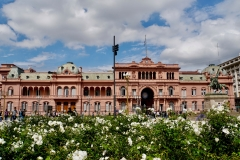 1. Pink house, presedential palace in Buenes Aires