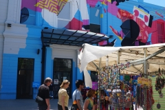 9. Craft walk in Recoleta Square