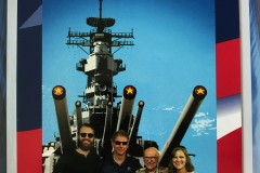 7. Fathers day visit to the USS IOWA, the battleship Dad served on in WWII