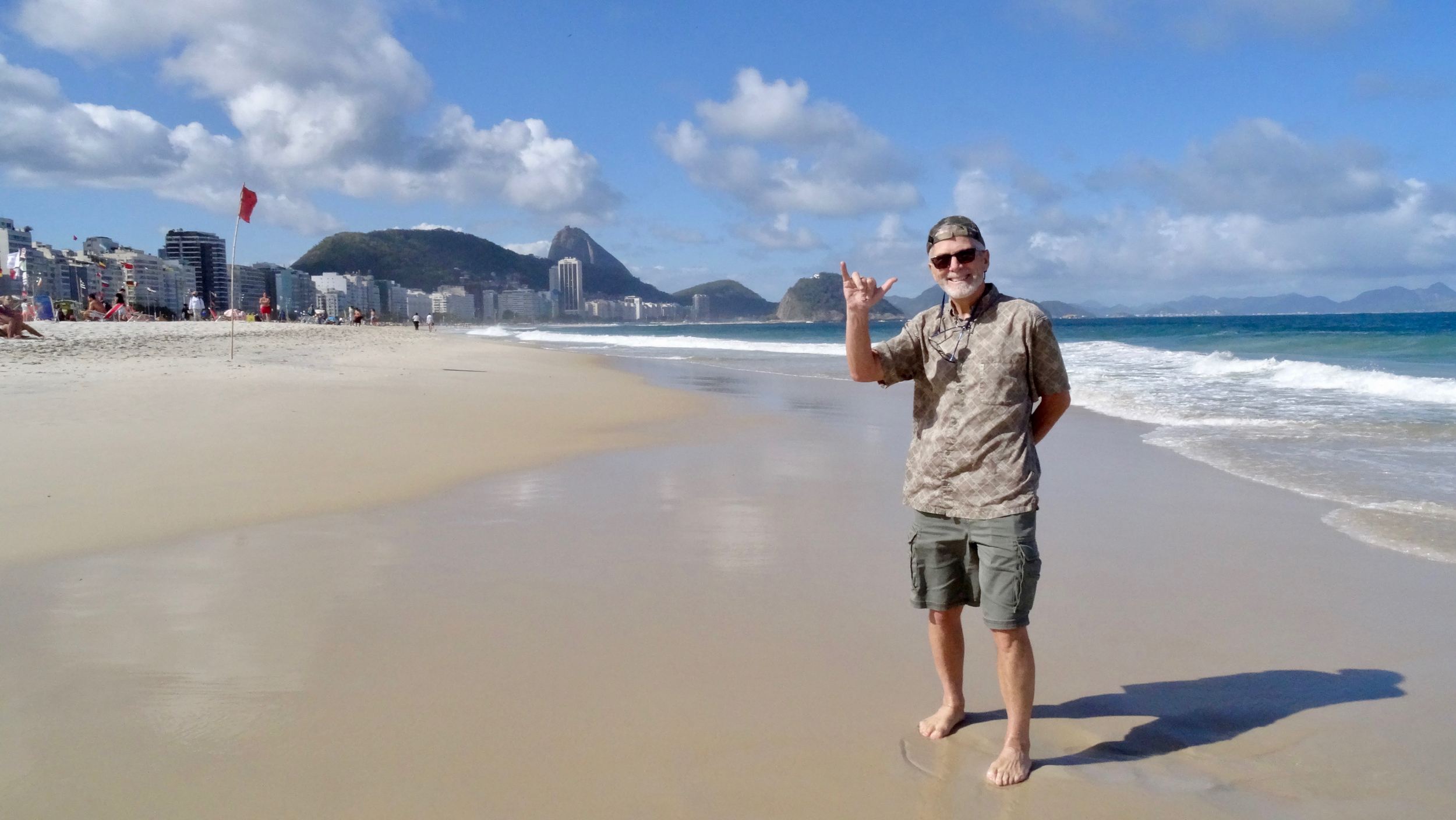 10. Bruce on Copacabana