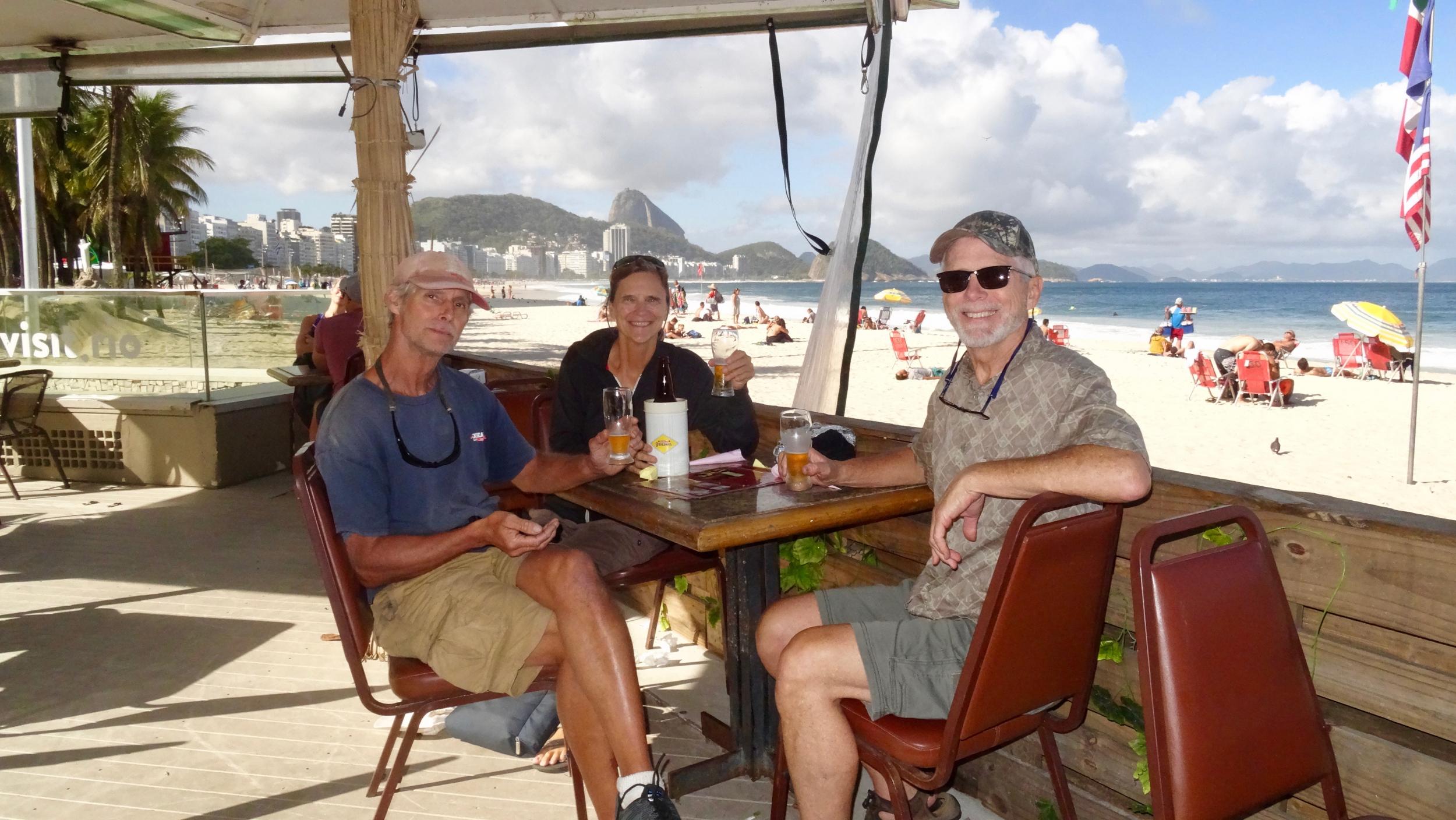 11. Lunch on Copacabana