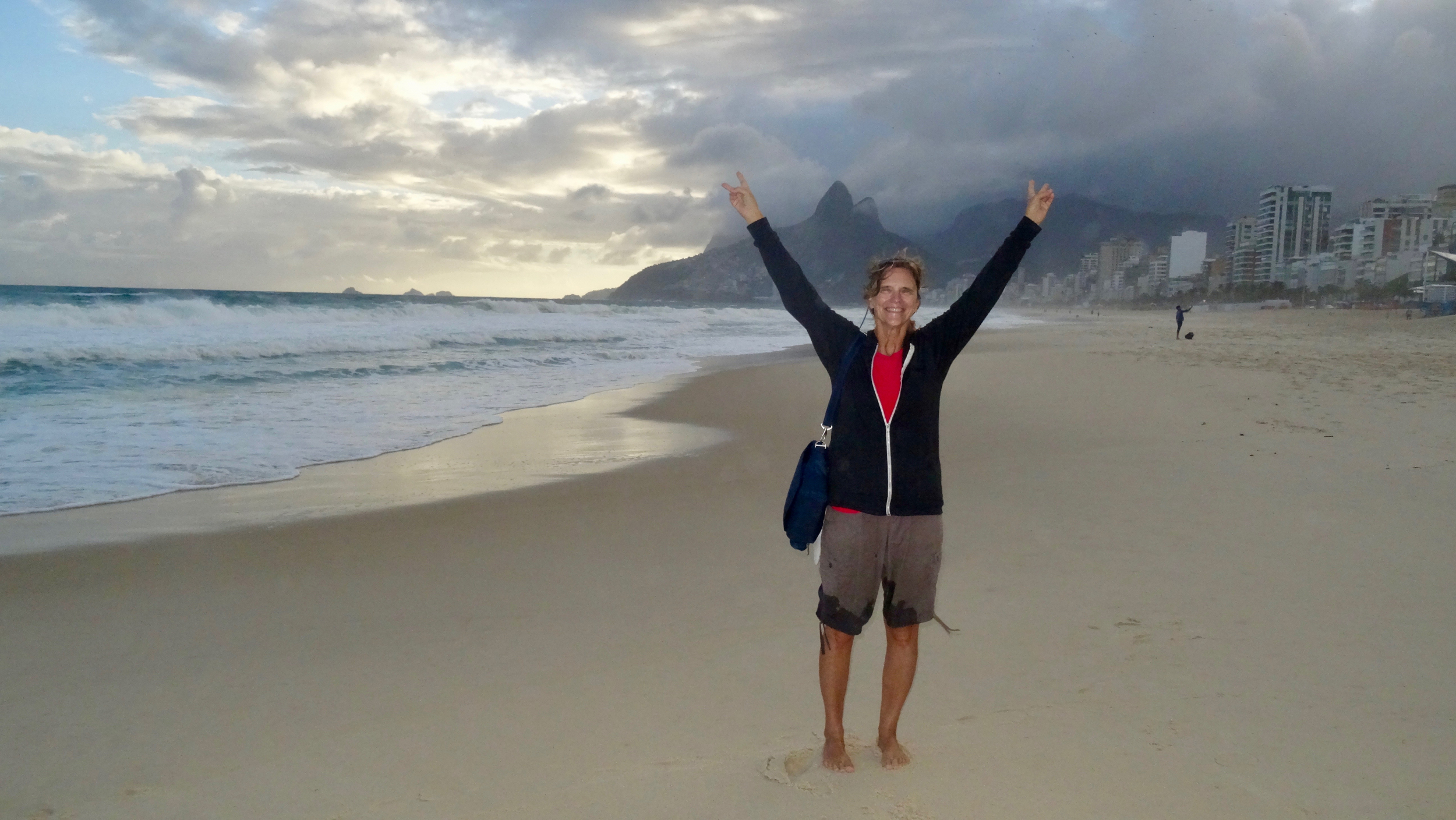 14. Cindy on Ipanema beach