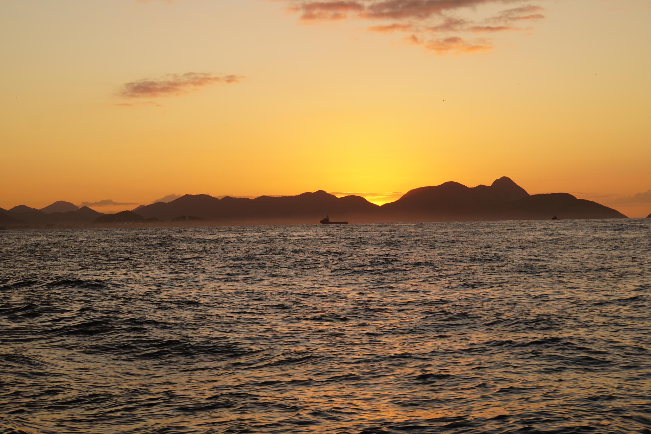 17. Sunrise leaving Rio