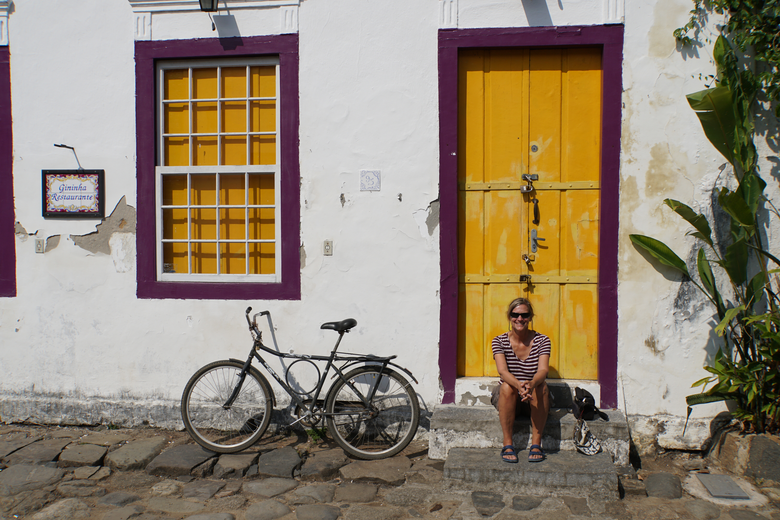 35. Cindy in Paraty
