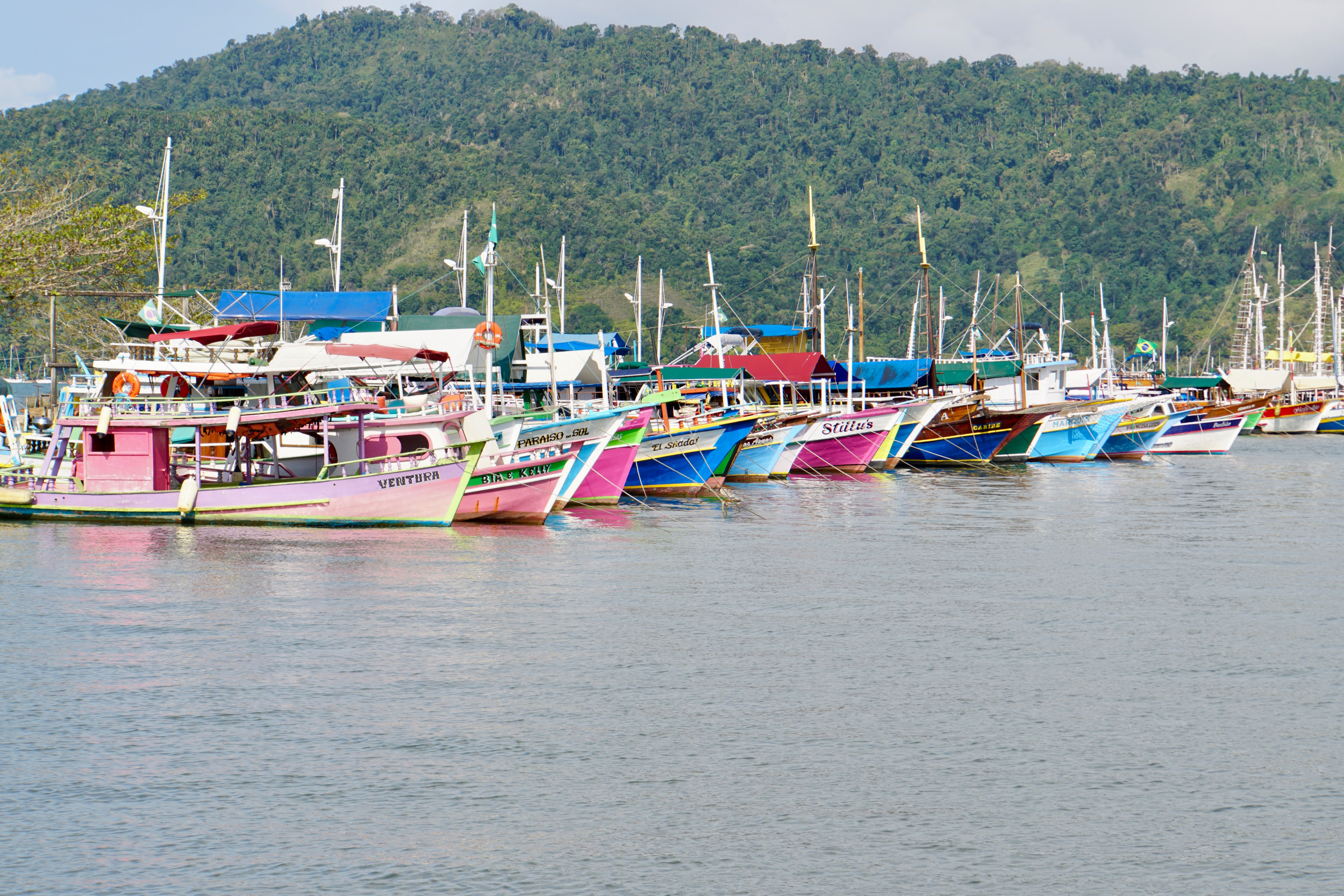 37. Boats in Paraty