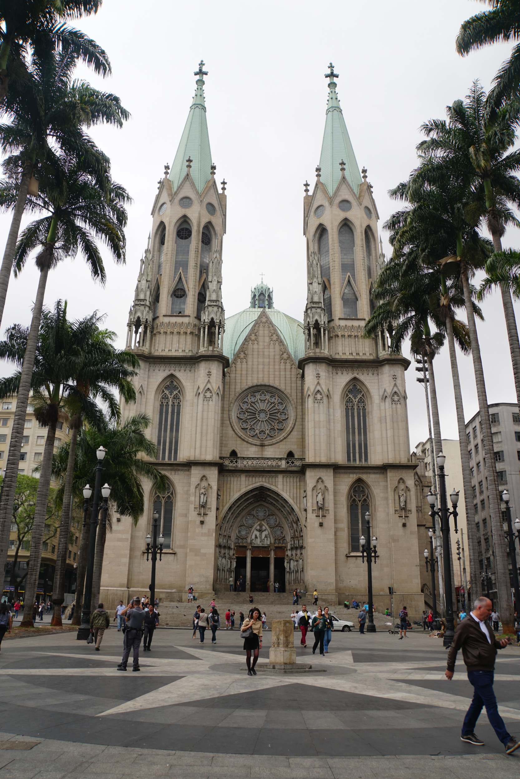 42. Cathedral in Sao Paulo