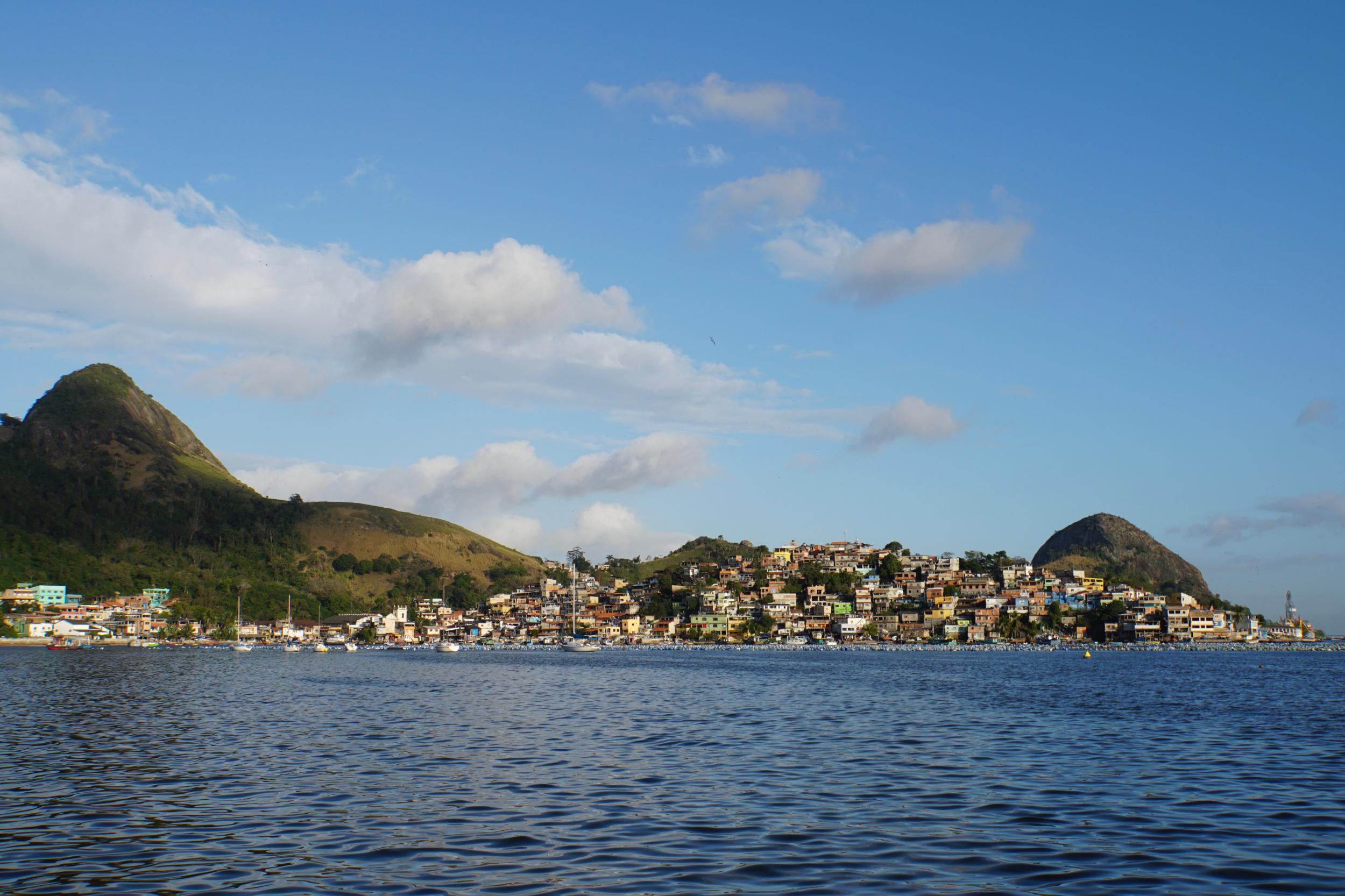 8. Favela near our marina