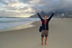 14. Cindy on Ipanema beach