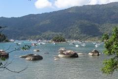 18. View of anchorage at Ilha Grande