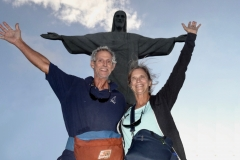 6. Willy and Cindy with Christ the Redeemer