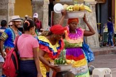 11. Fruit vendors
