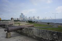12. Old vs new city, Cartagena