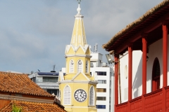 5. Clock tower at Old City entrance