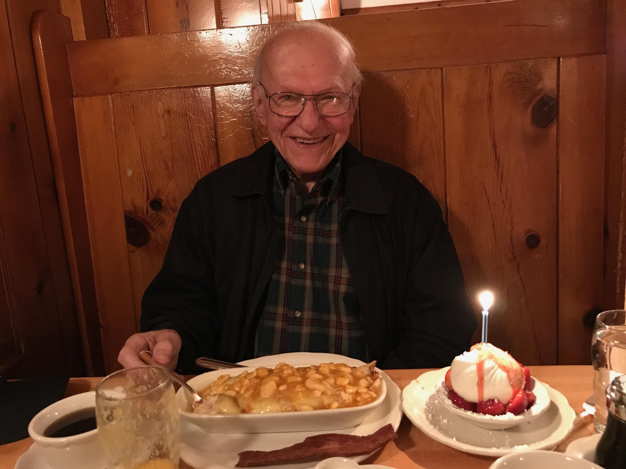 17. Happy 91st Dad!