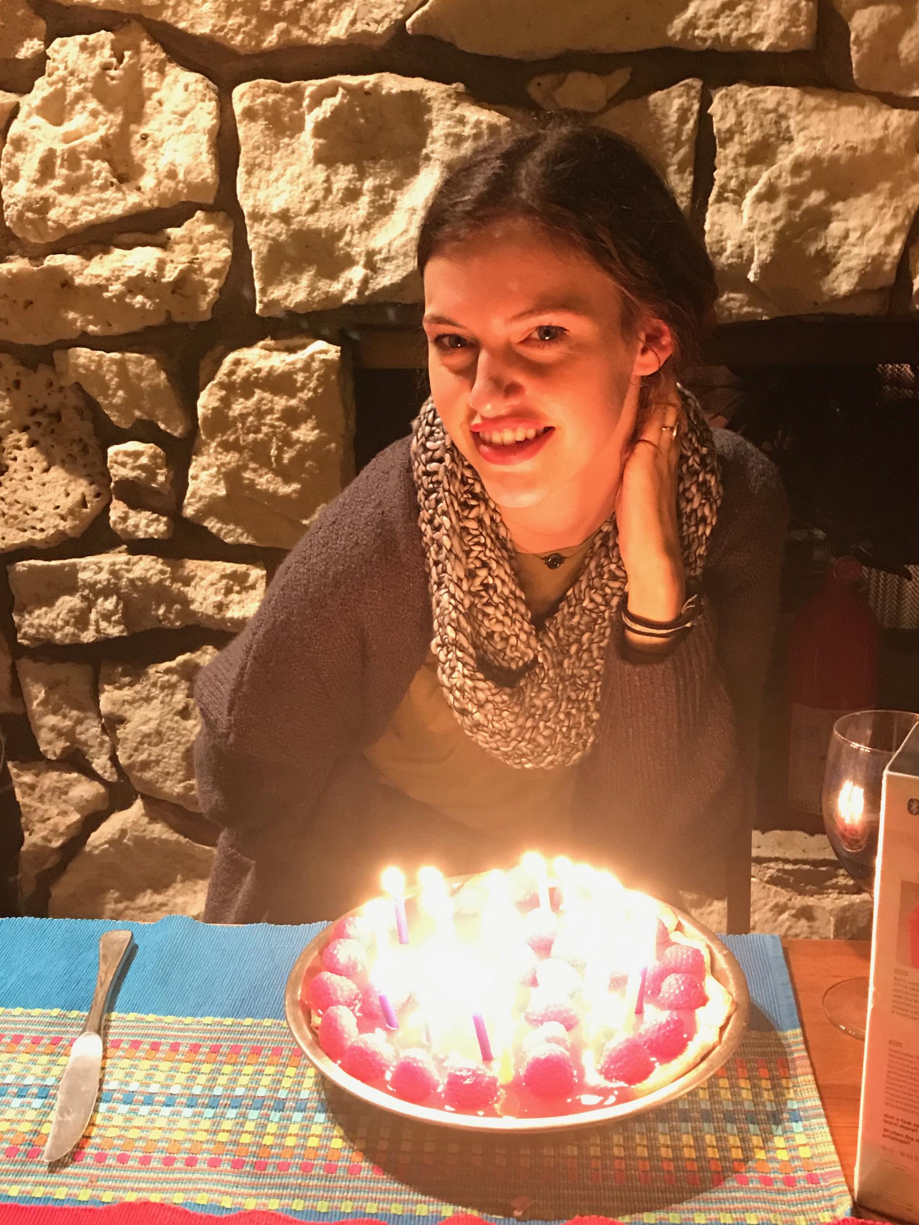 18. Happy 22nd Kyra!