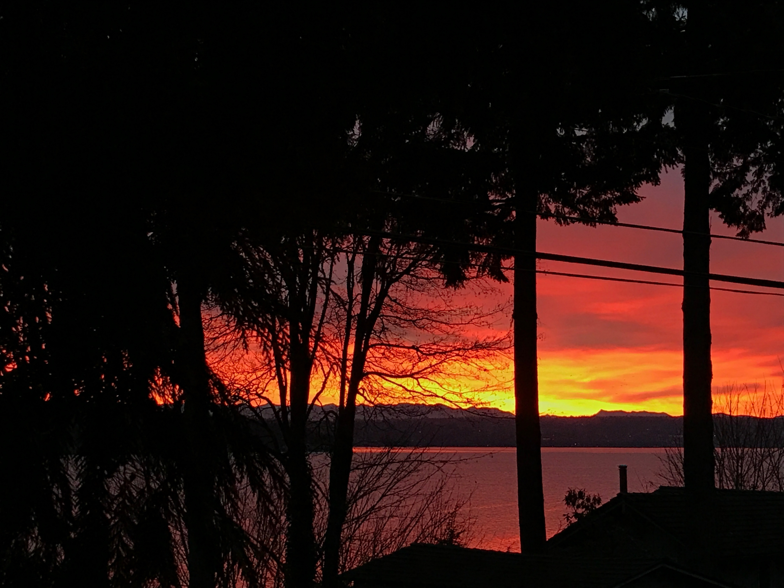 19. Sunset in Seattle
