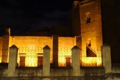 58. Cathedral at night