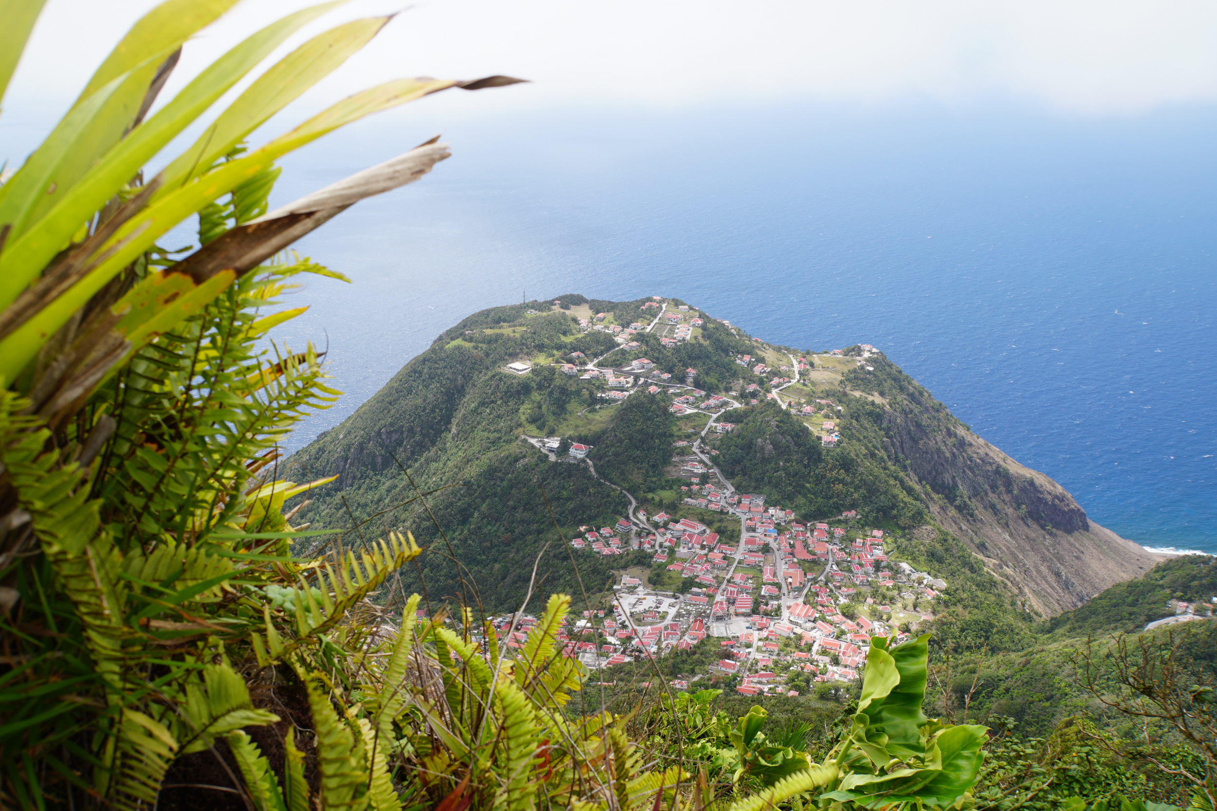 27. View of Windward walking up the volcano