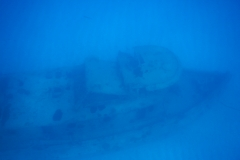 8. Sunken tug off Tintamarre