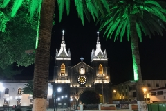 15. Banos Cathedral at night