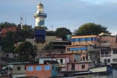 8. El Faro and colorful houses of Santa Ana
