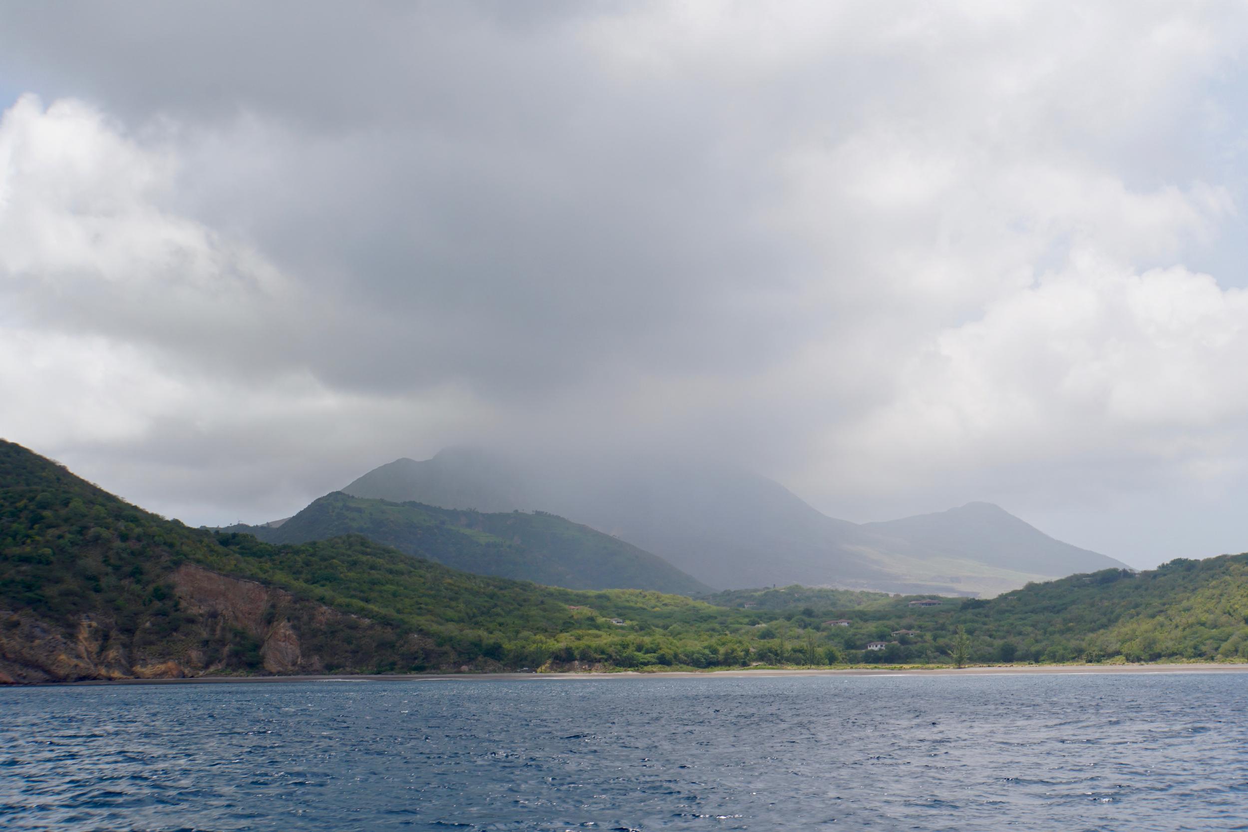 17. Sailing down Montserrat coast