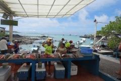 2. Fish market in Puerto Ayora
