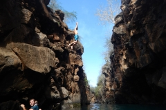 7. Willy cliff jumping, Las Grietas