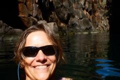 8. Swimming in Las Grietas