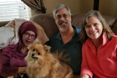 39. Julie, David and Cindy