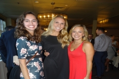 6. Chloe, Courtney and Lily, rehearsal dinner