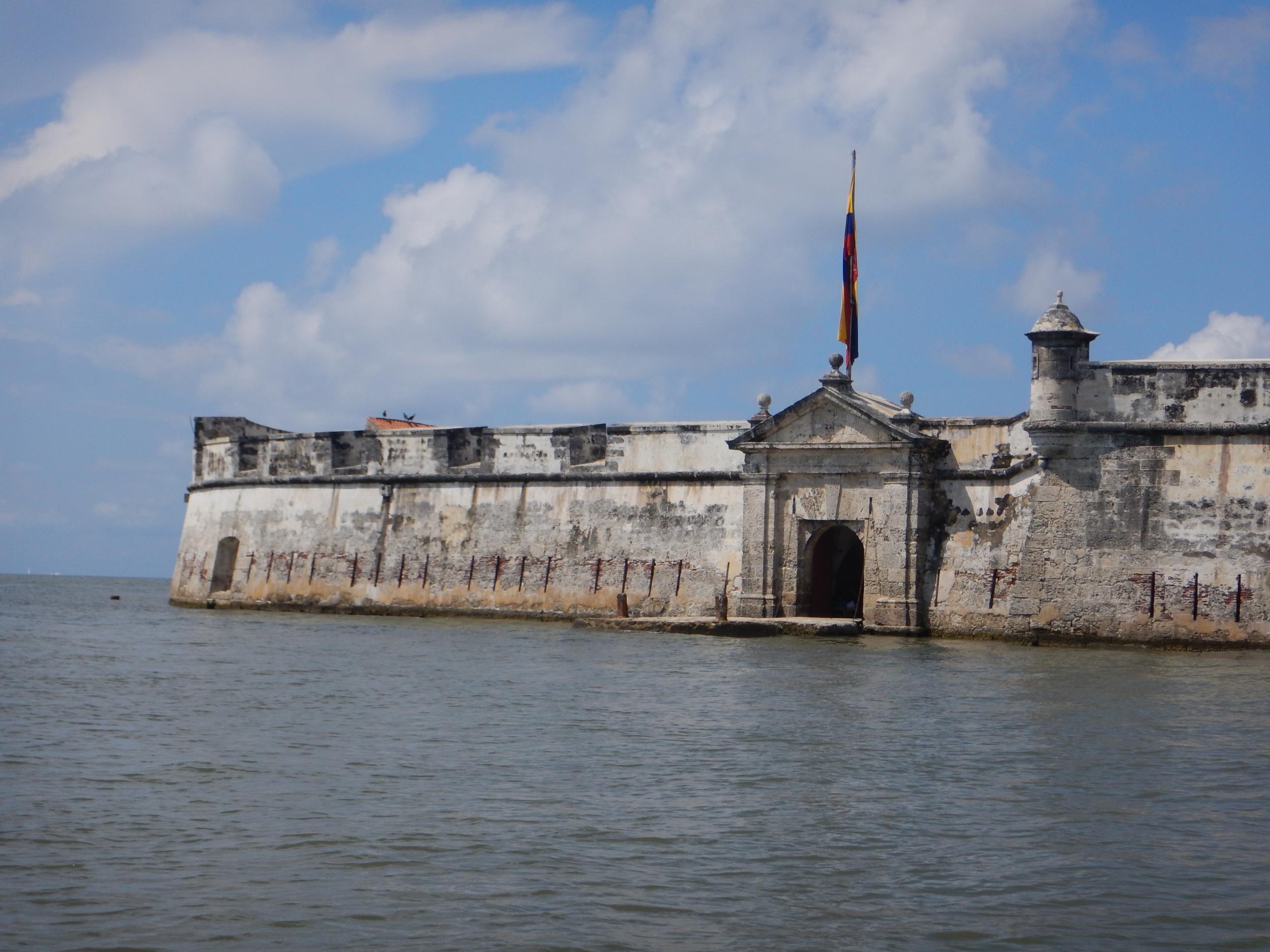 11. The Fort of San Fernando de Bocachica