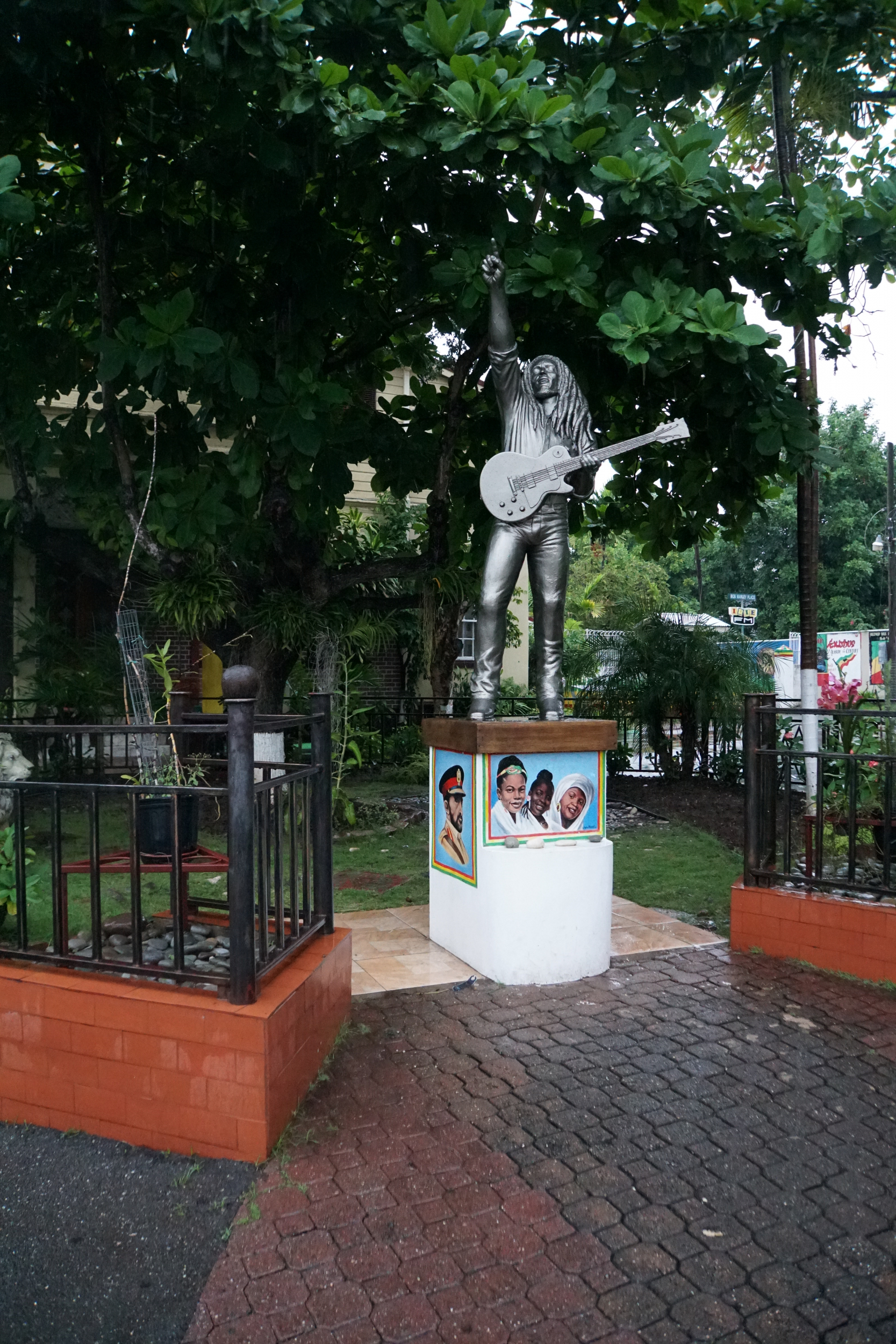 29. Life size statue of Bob Marley