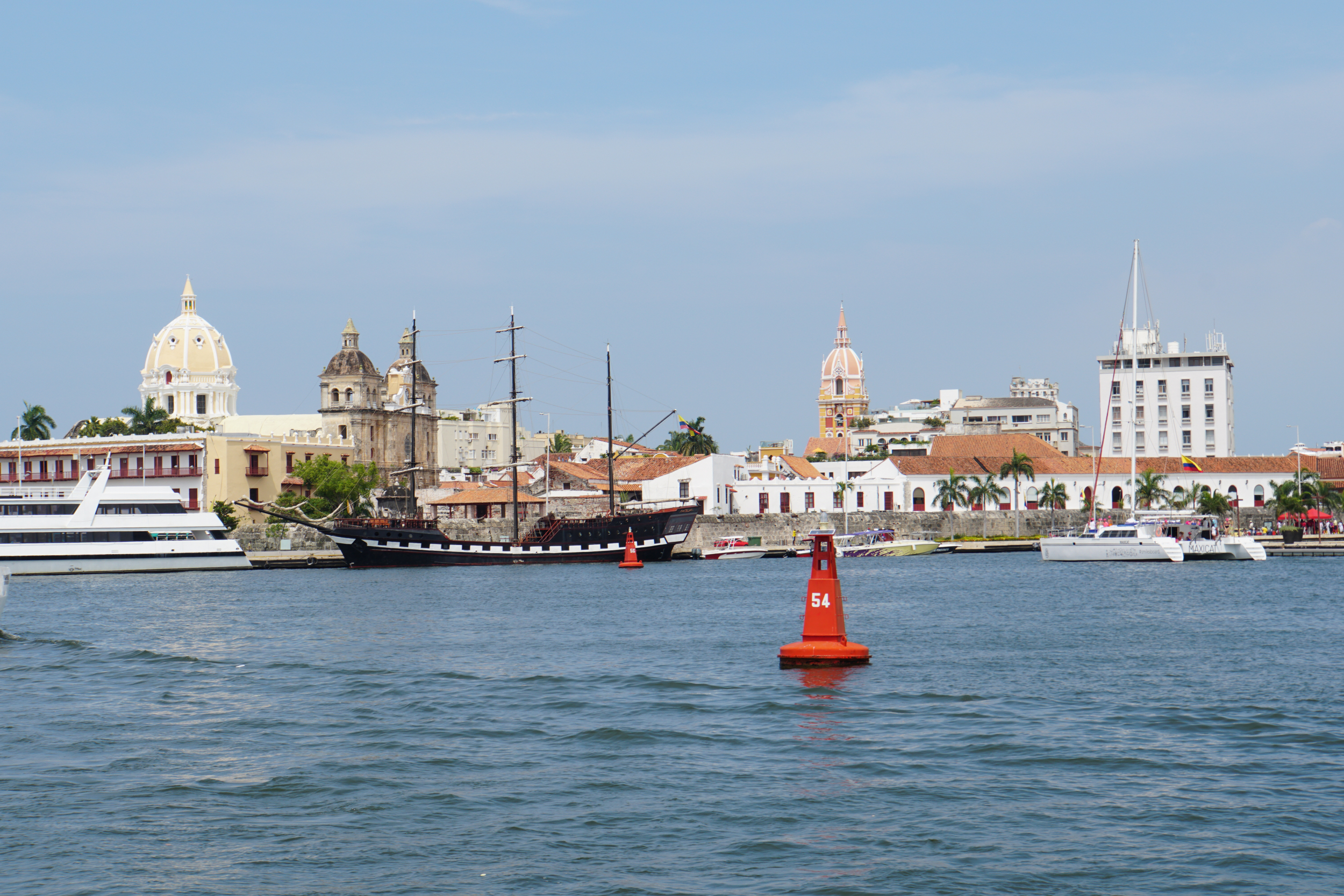 6. Cartagena from the water