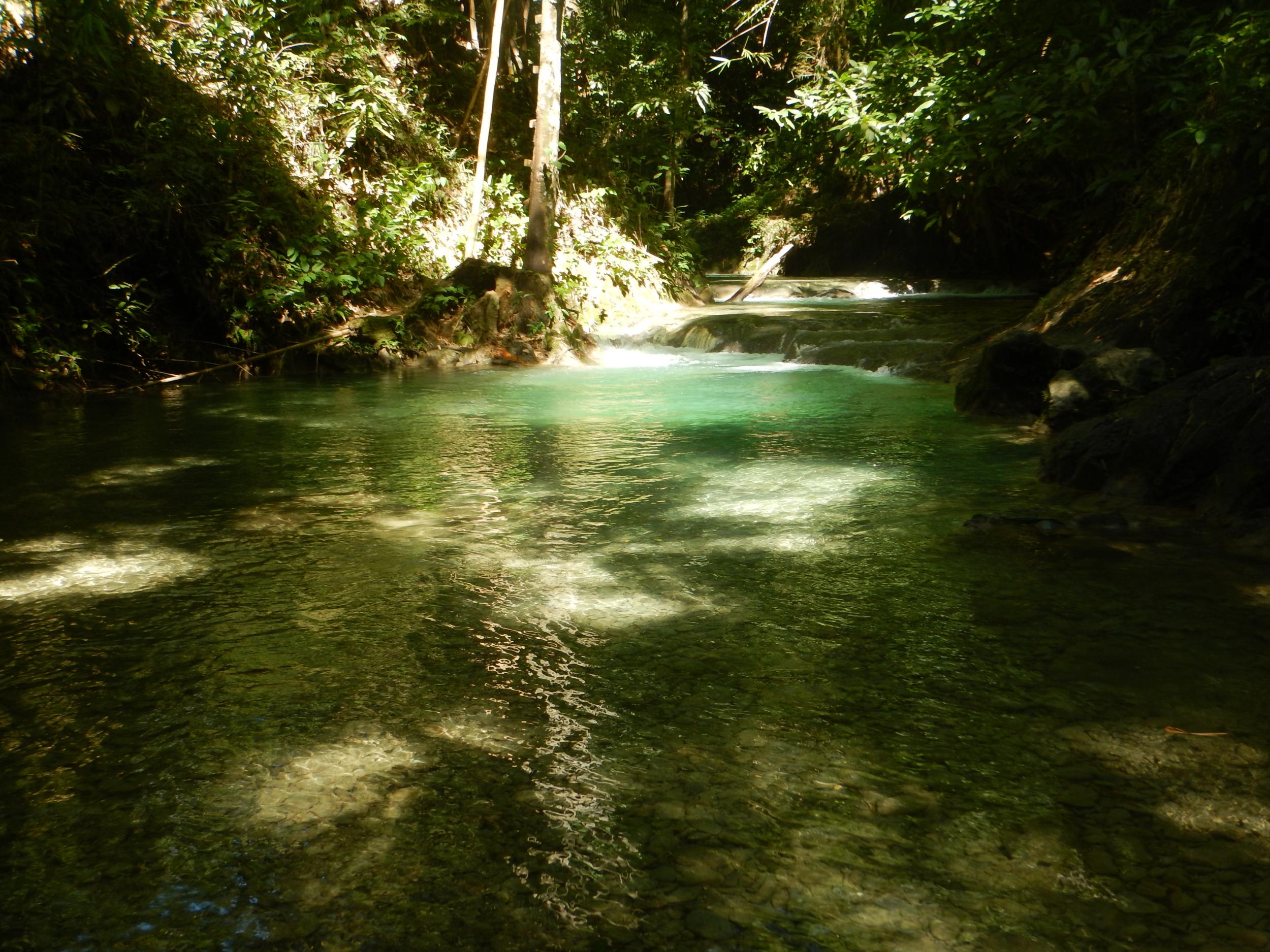 73. Serene spot on the river