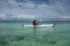 37. kayaking off Pigeon Island