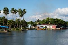 53. Fishing pangas in Black River