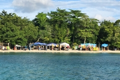 77. Shops on the beach..Negril