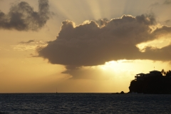 1. Sunset in Antigua