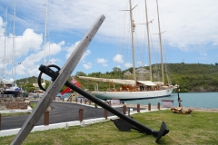 10. Boats anchore in Nelson Dockyard
