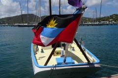 6. Antigua flag