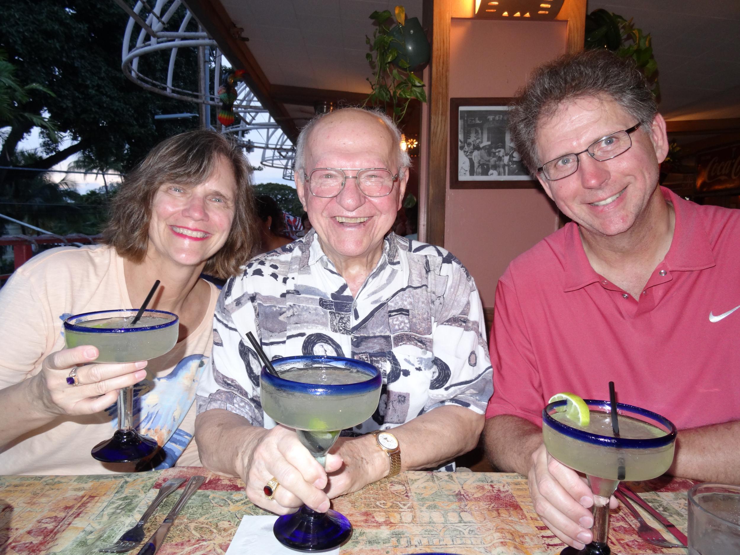 5. Dad, Doug and me