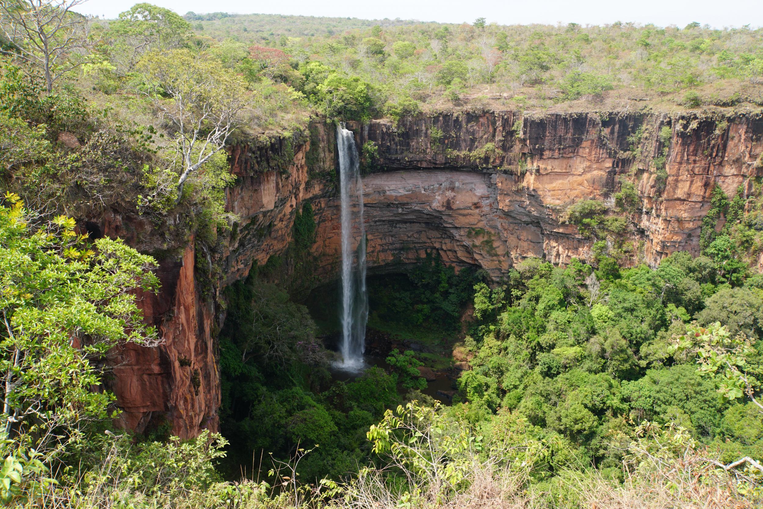 39. Veu Da Noiva Waterfall, Chapada Brazil