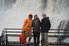 57. Getting wet at Iguacu